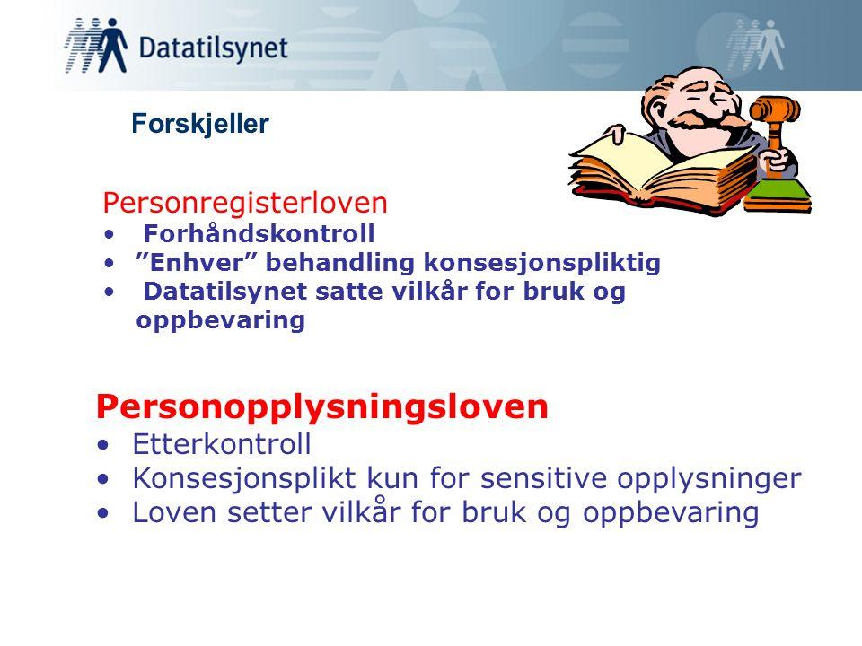 Personopplysningsloven
