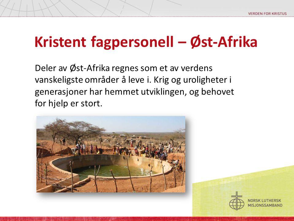 Kristent fagpersonell – Øst-Afrika