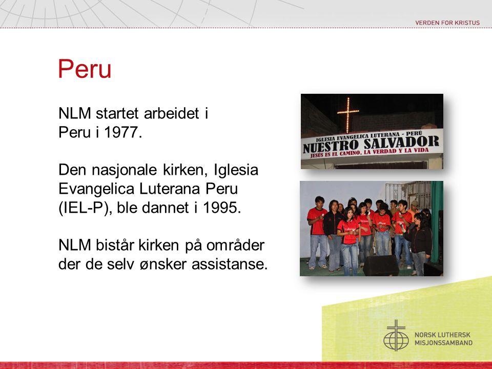 Peru NLM startet arbeidet i Peru i 1977.