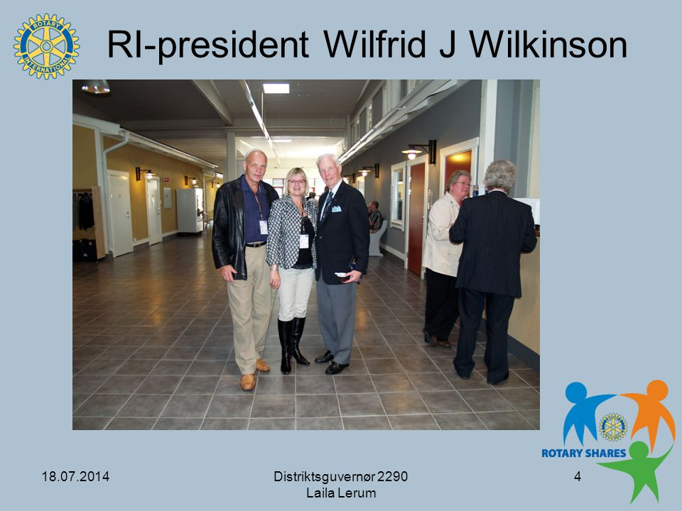 RI-president Wilfrid J Wilkinson
