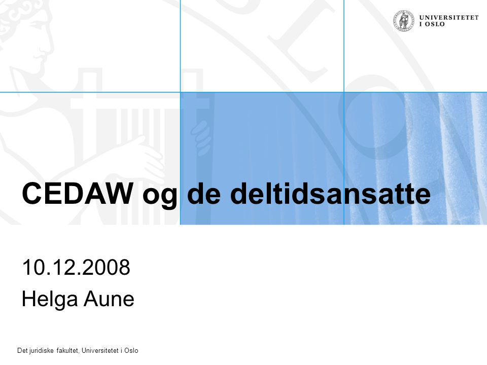 CEDAW og de deltidsansatte