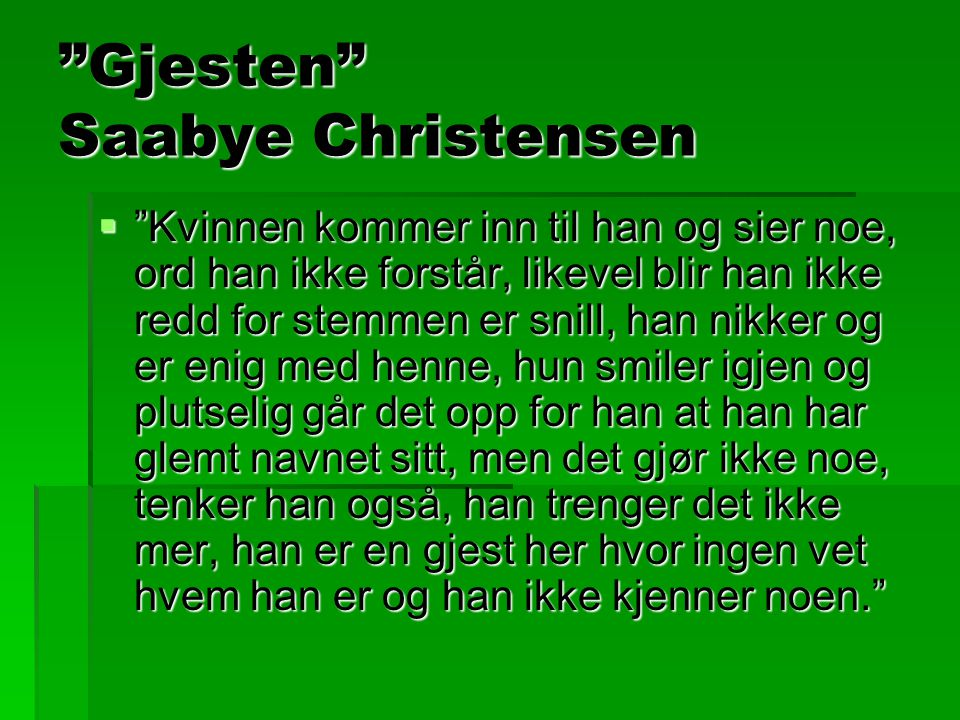 Gjesten Saabye Christensen
