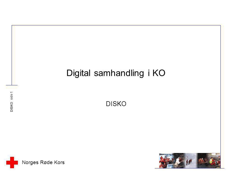 Digital samhandling i KO