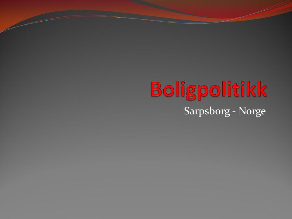 Boligpolitikk Sarpsborg - Norge