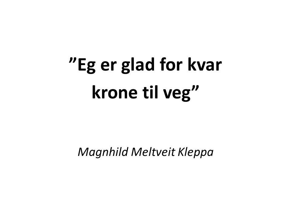 Magnhild Meltveit Kleppa