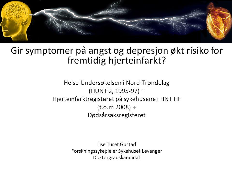 Gir symptomer på angst og depresjon økt risiko for fremtidig hjerteinfarkt