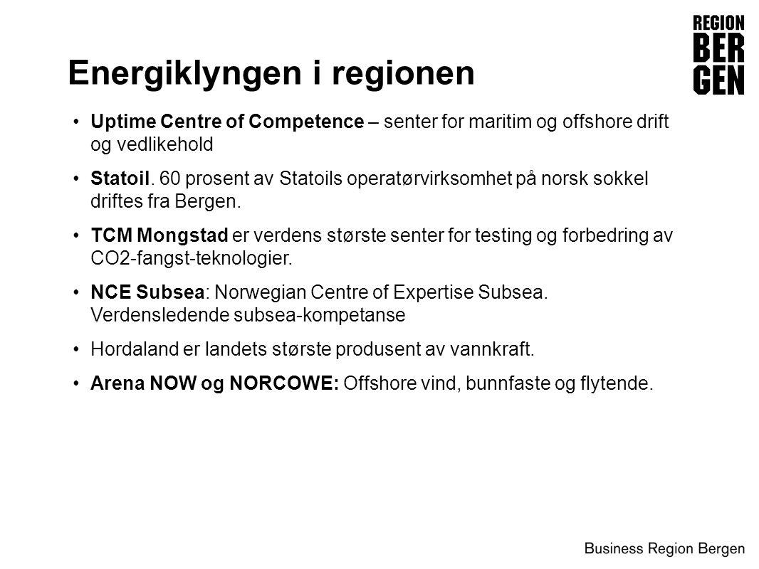 Energiklyngen i regionen