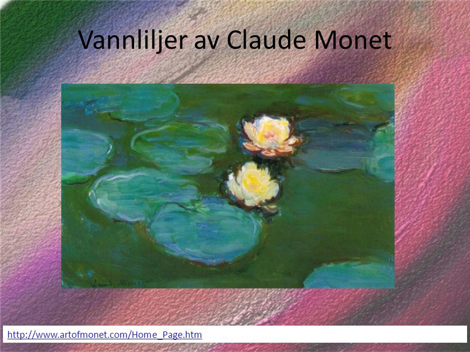 Vannliljer av Claude Monet
