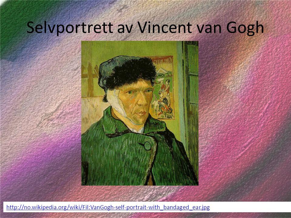 Selvportrett av Vincent van Gogh