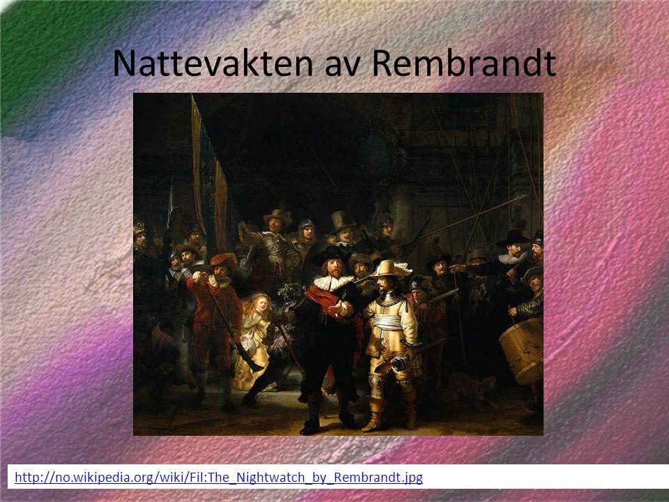 Nattevakten av Rembrandt