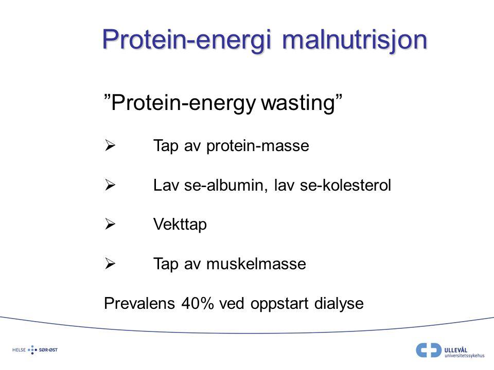 Protein-energi malnutrisjon