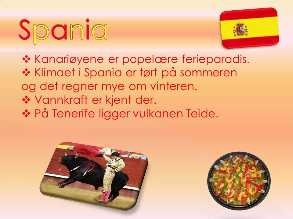 Spania Kanariøyene er popelære ferieparadis.