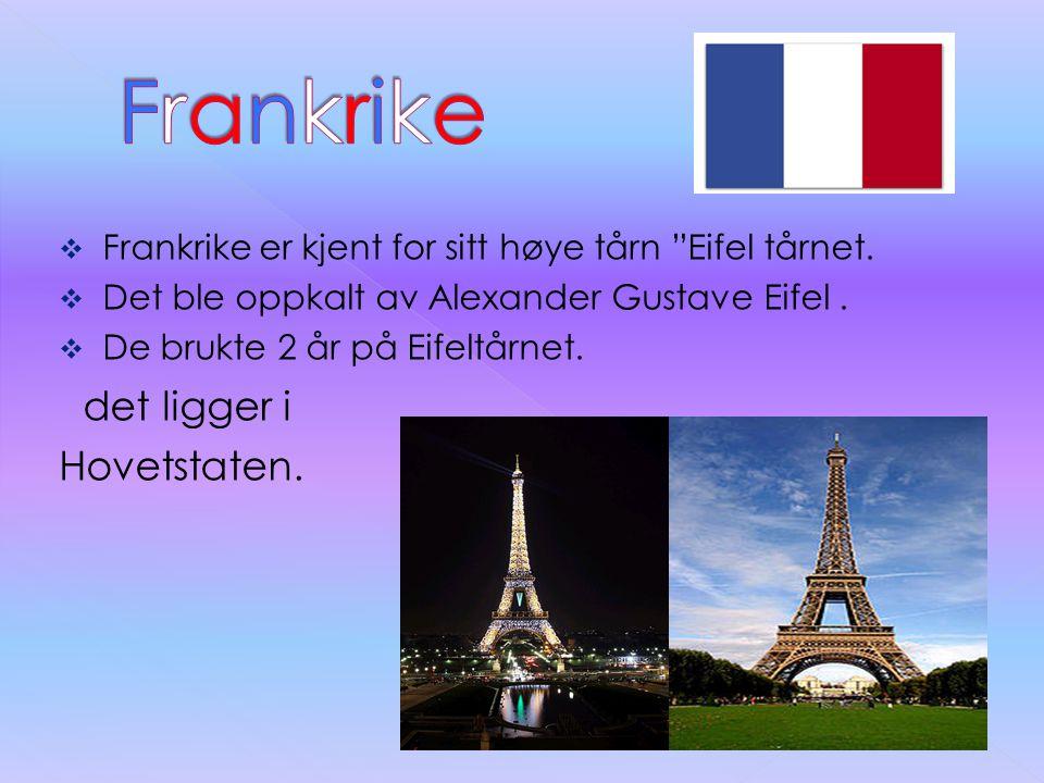 Frankrike det ligger i Hovetstaten.
