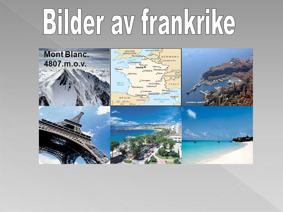 Bilder av frankrike Mont Blanc. 4807.m.o.v.