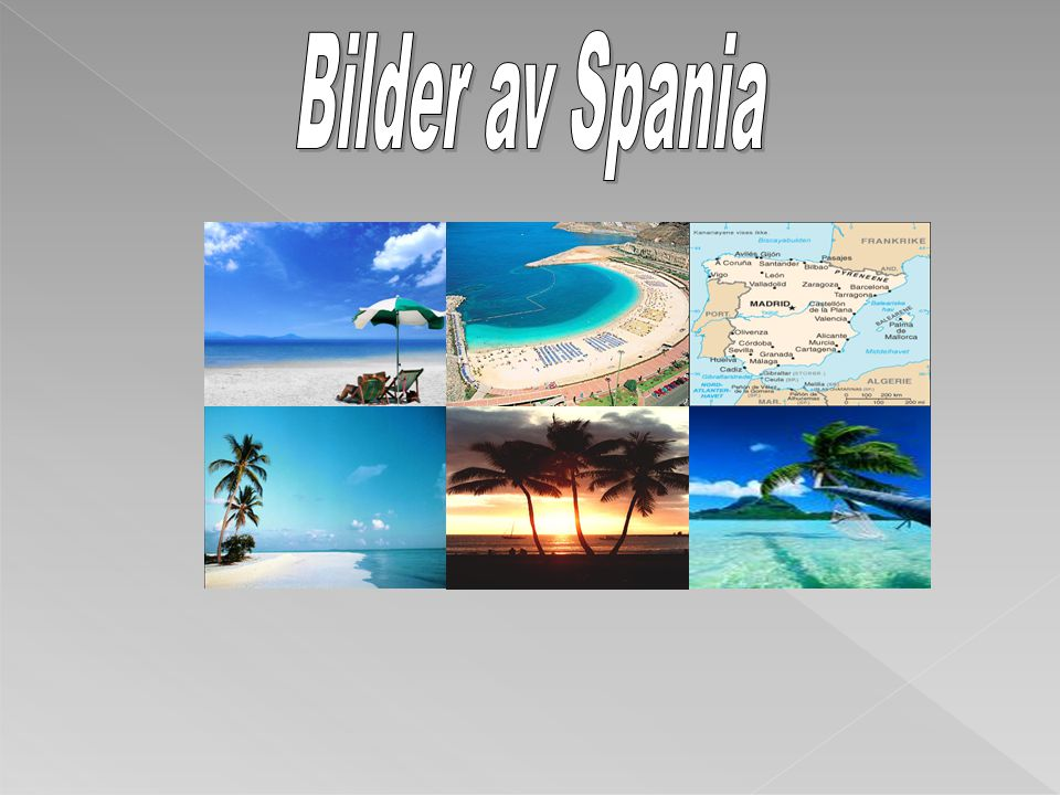Bilder av Spania