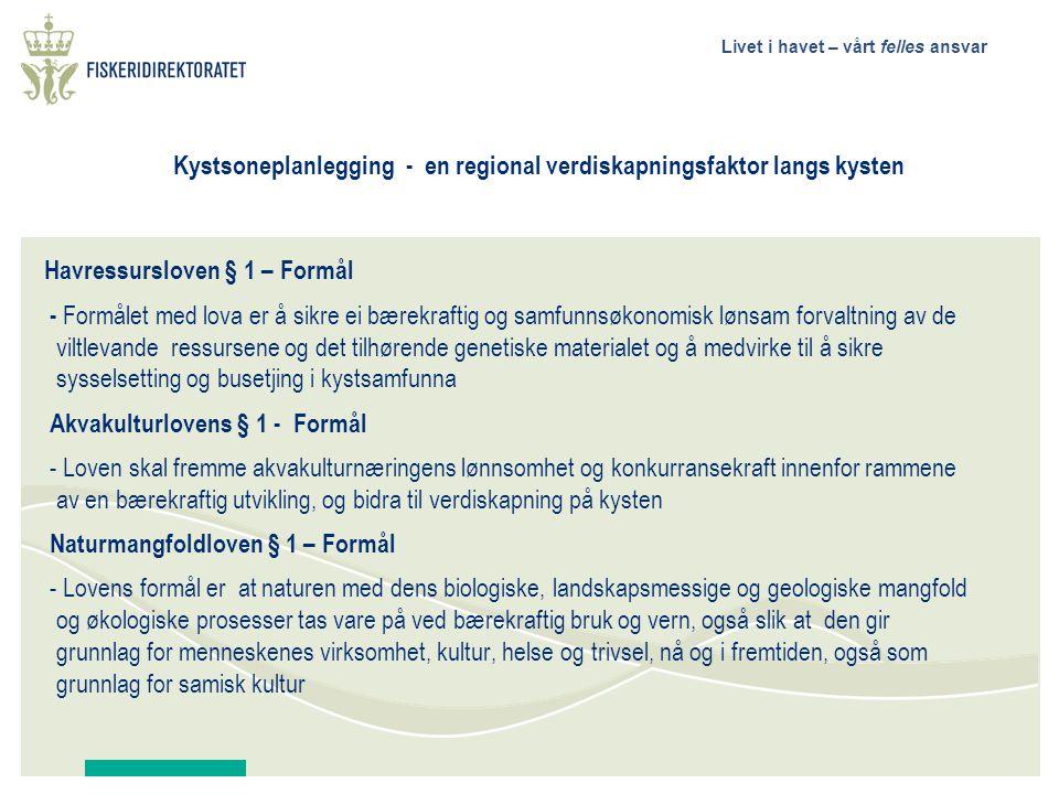 Kystsoneplanlegging - en regional verdiskapningsfaktor langs kysten