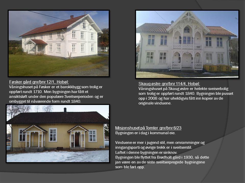 Føsker gård gnr/bnr 12/1, Hobøl: