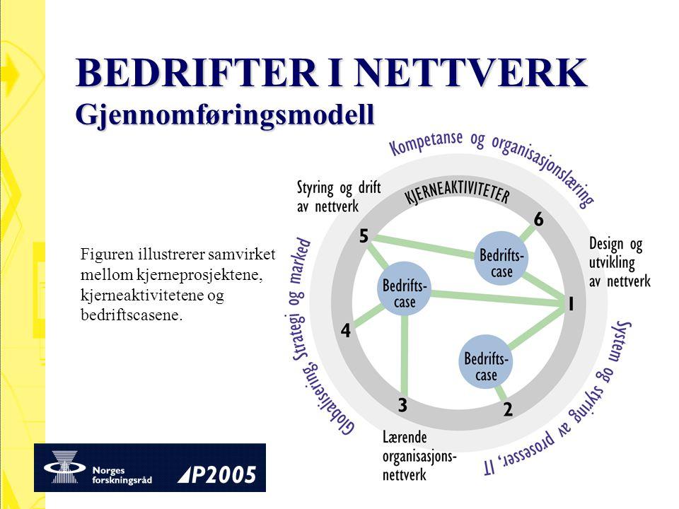BEDRIFTER I NETTVERK Gjennomføringsmodell