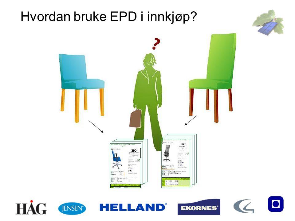 Hvordan bruke EPD i innkjøp