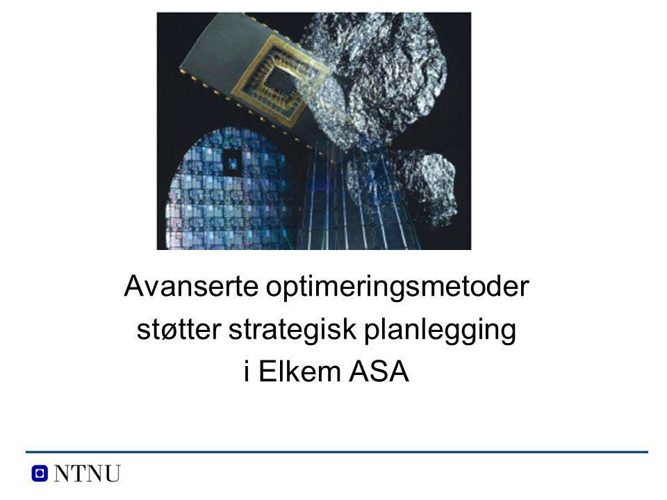 Avanserte optimeringsmetoder støtter strategisk planlegging