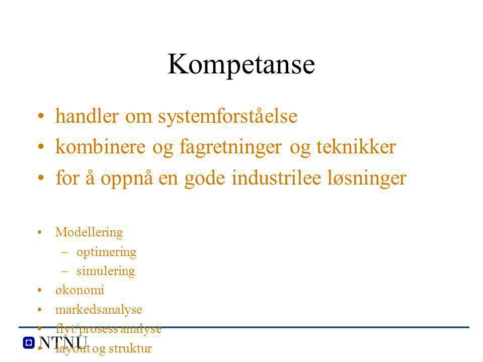 Kompetanse handler om systemforståelse