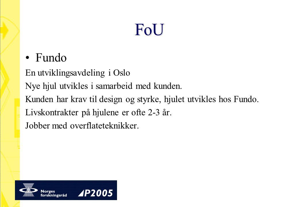 FoU Fundo En utviklingsavdeling i Oslo