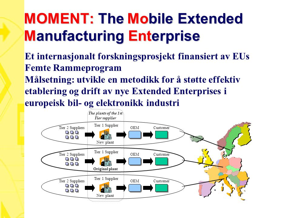 MOMENT: The Mobile Extended Manufacturing Enterprise