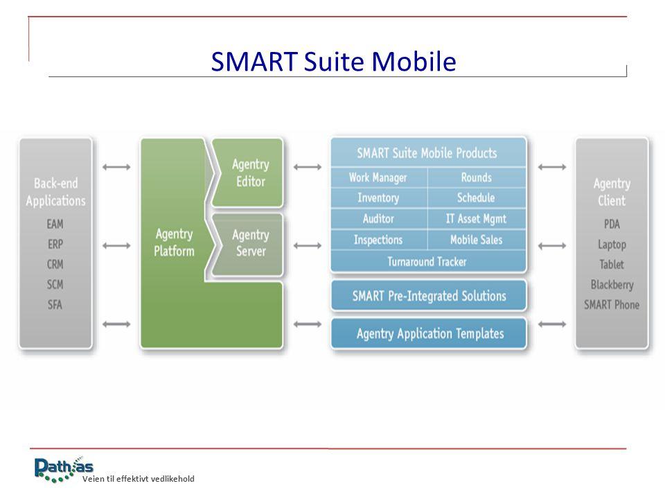 SMART Suite Mobile Veien til effektivt vedlikehold