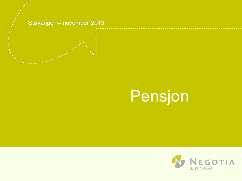 Pensjon Stavanger – november 2013 04/04/2017