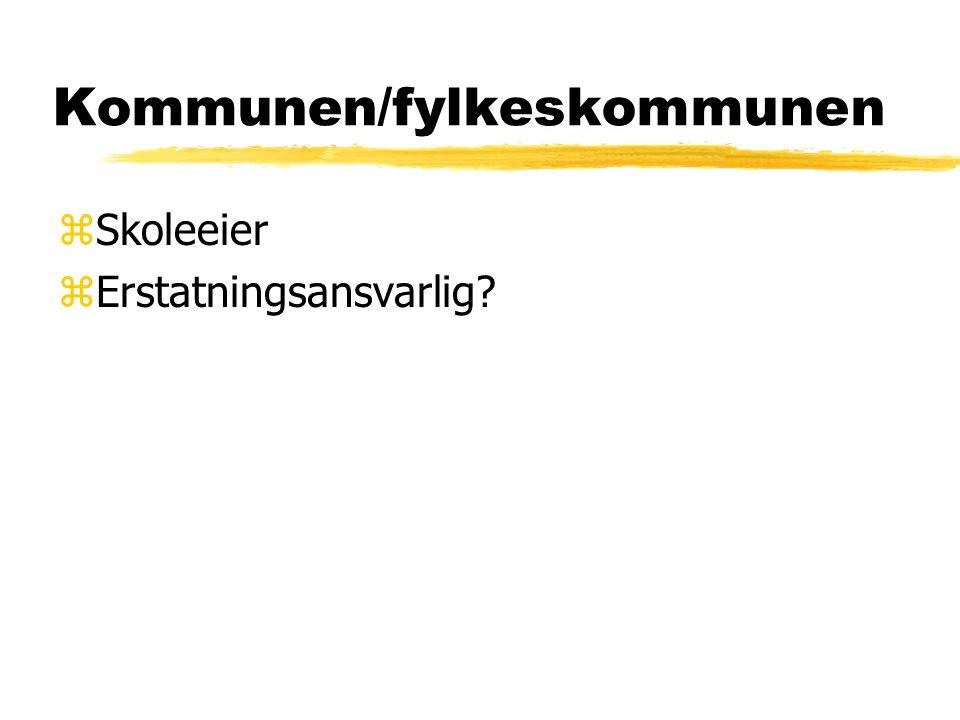 Kommunen/fylkeskommunen