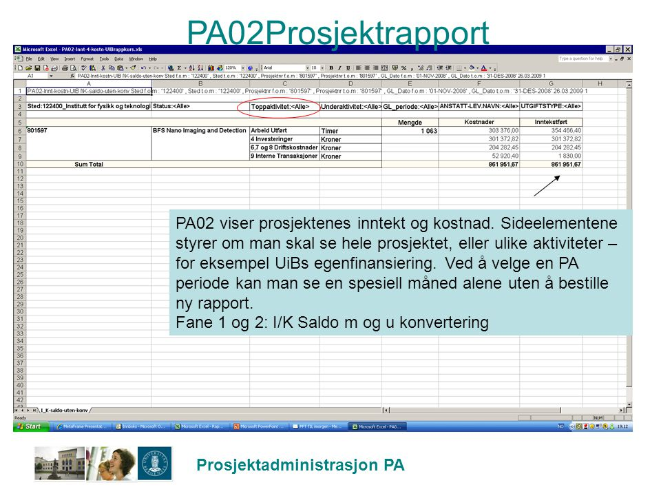PA02Prosjektrapport