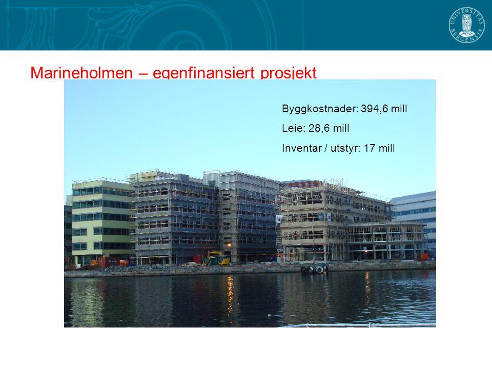 Marineholmen – egenfinansiert prosjekt