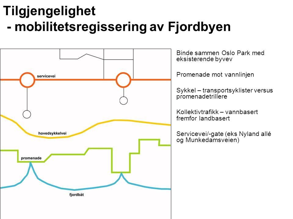Tilgjengelighet - mobilitetsregissering av Fjordbyen