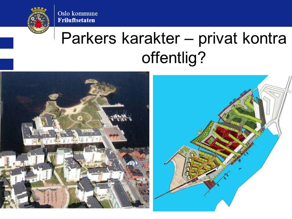 Parkers karakter – privat kontra offentlig