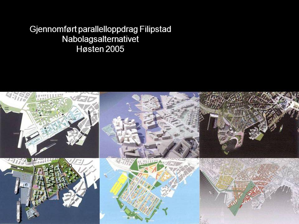 Gjennomført parallelloppdrag Filipstad Nabolagsalternativet