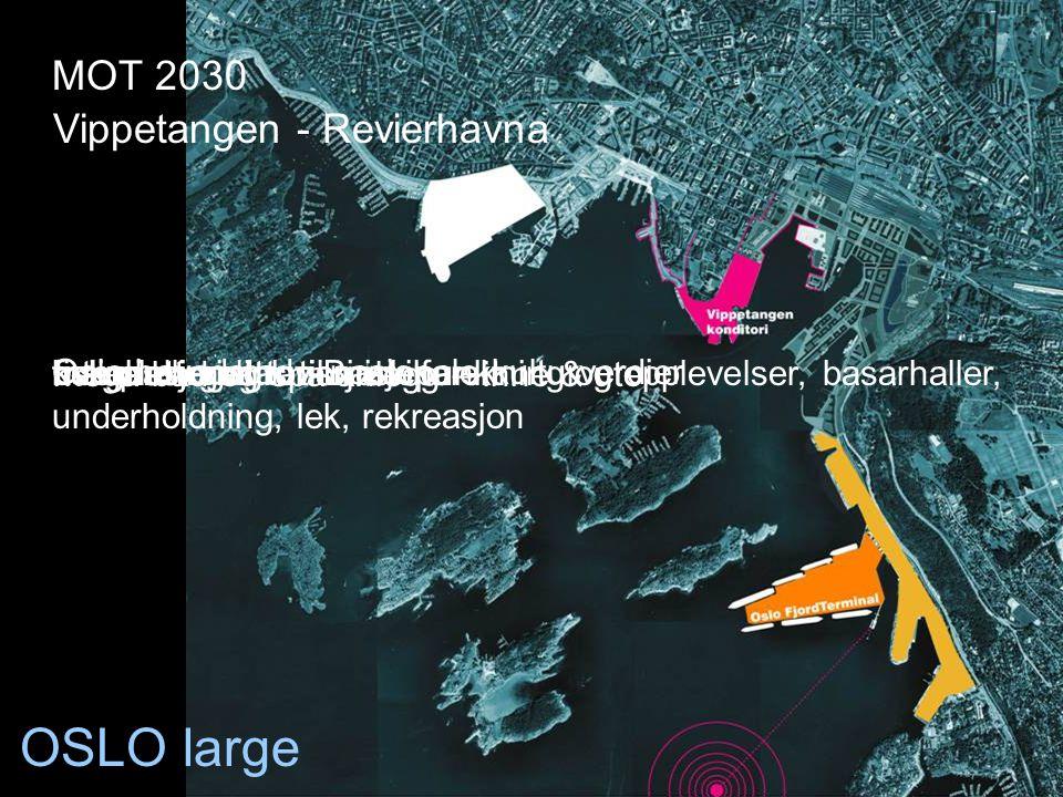 OSLO large MOT 2030 Vippetangen - Revierhavna