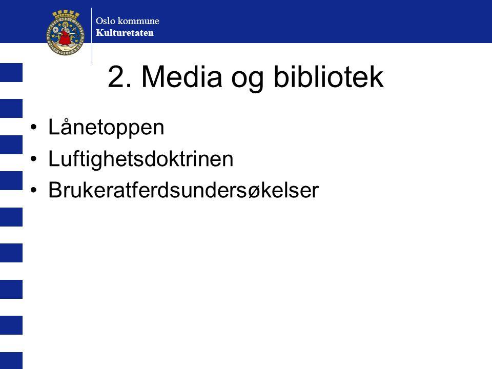 2. Media og bibliotek Lånetoppen Luftighetsdoktrinen
