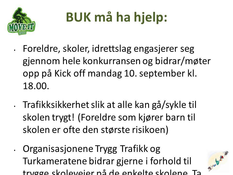 BUK må ha hjelp: