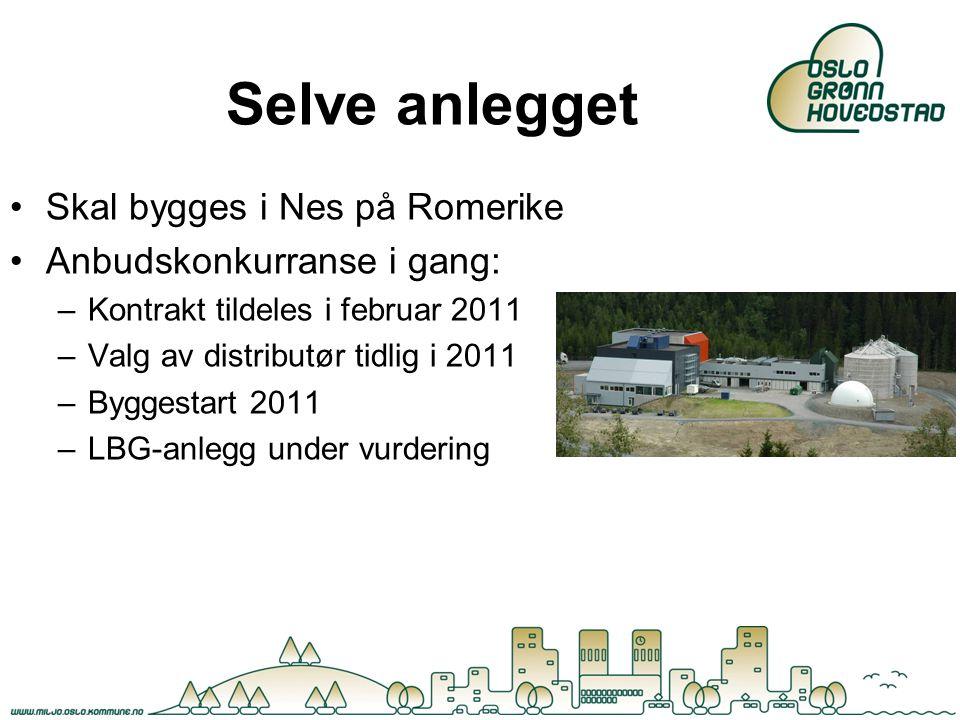Selve anlegget Skal bygges i Nes på Romerike Anbudskonkurranse i gang: