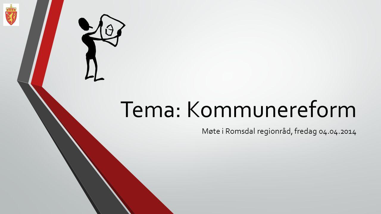 Møte i Romsdal regionråd, fredag 04.04.2014