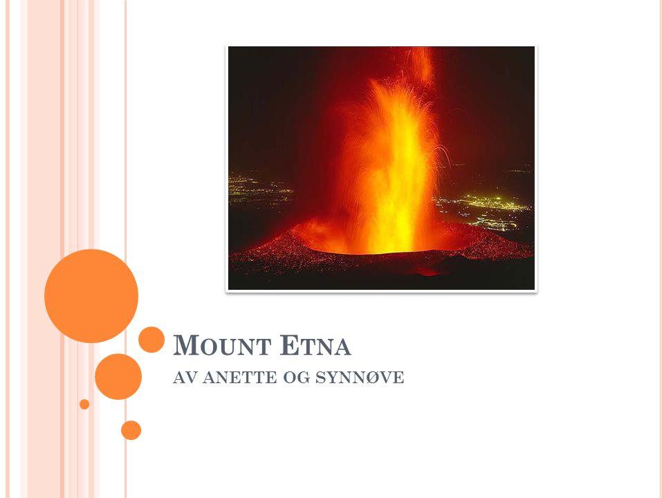 Mount Etna AV ANETTE OG SYNNØVE