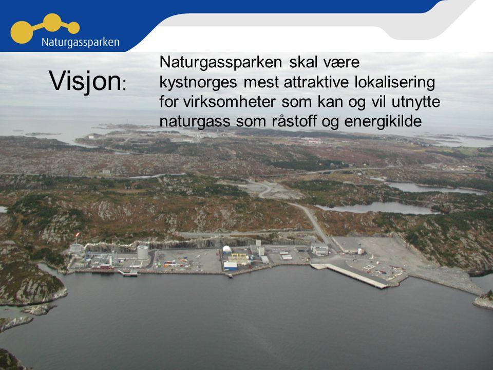 Visjon: Naturgassparken skal være
