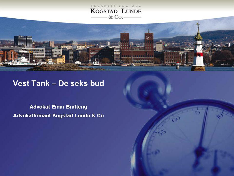 Advokat Einar Bratteng Advokatfirmaet Kogstad Lunde & Co