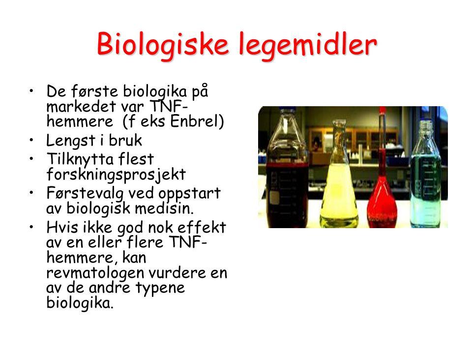 Biologiske legemidler
