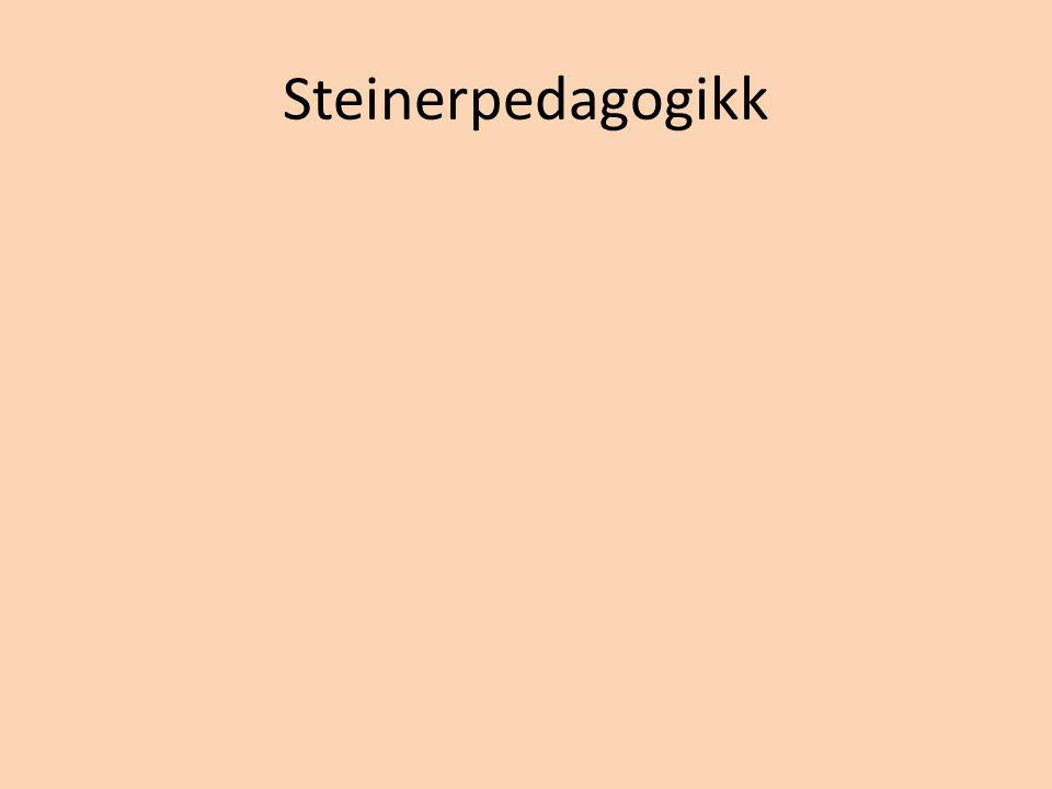 Steinerpedagogikk