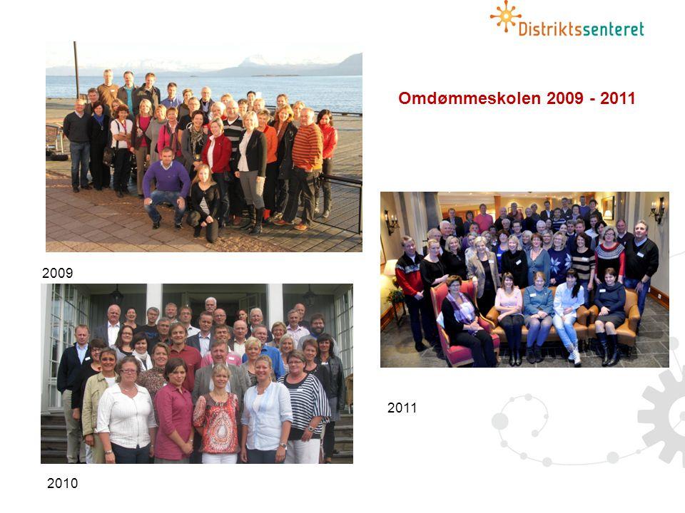 Omdømmeskolen 2009 - 2011 2009. Halvor. Det er fjerde året Distriktssenteret arrangerer omdømmeskole for kommuner og regionråd.