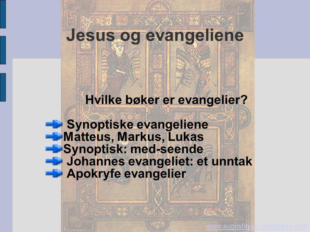 Hvilke bøker er evangelier