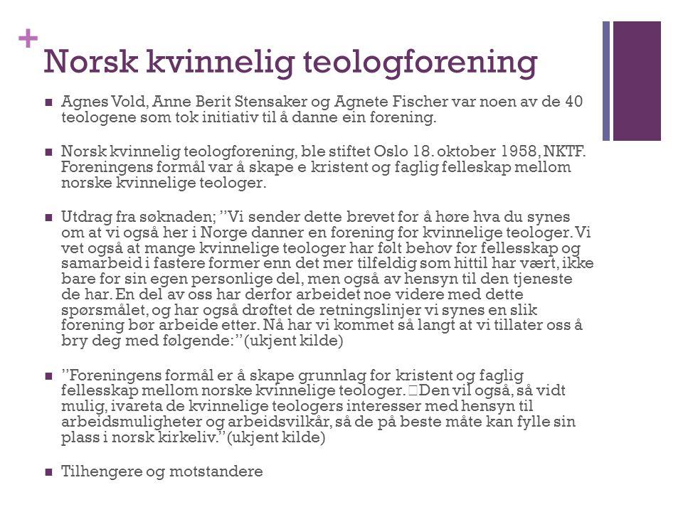 Norsk kvinnelig teologforening