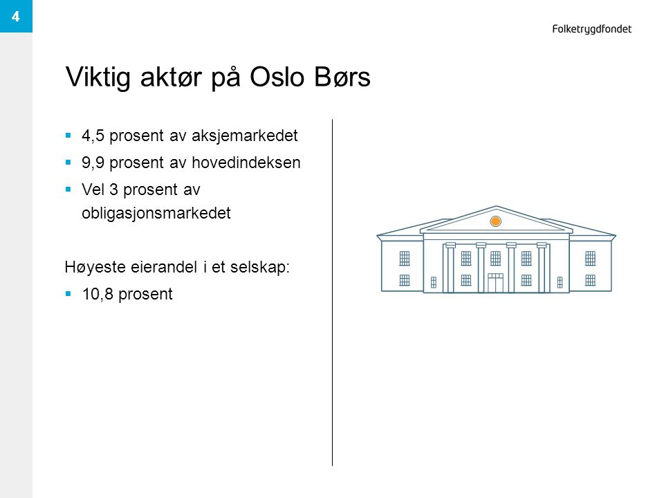 Viktig aktør på Oslo Børs