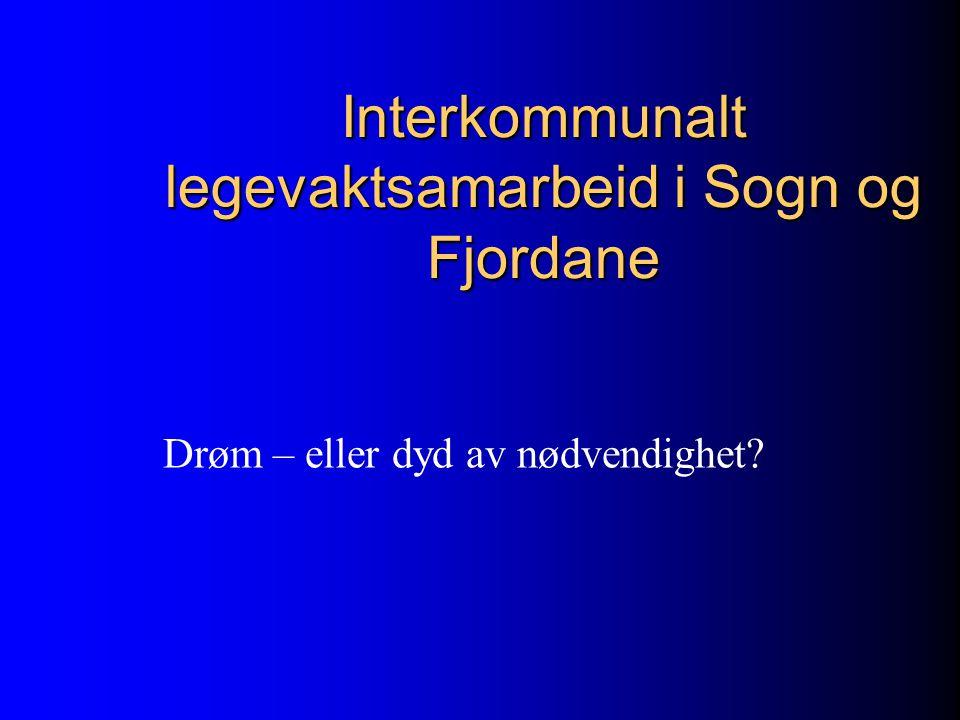 Interkommunalt legevaktsamarbeid i Sogn og Fjordane